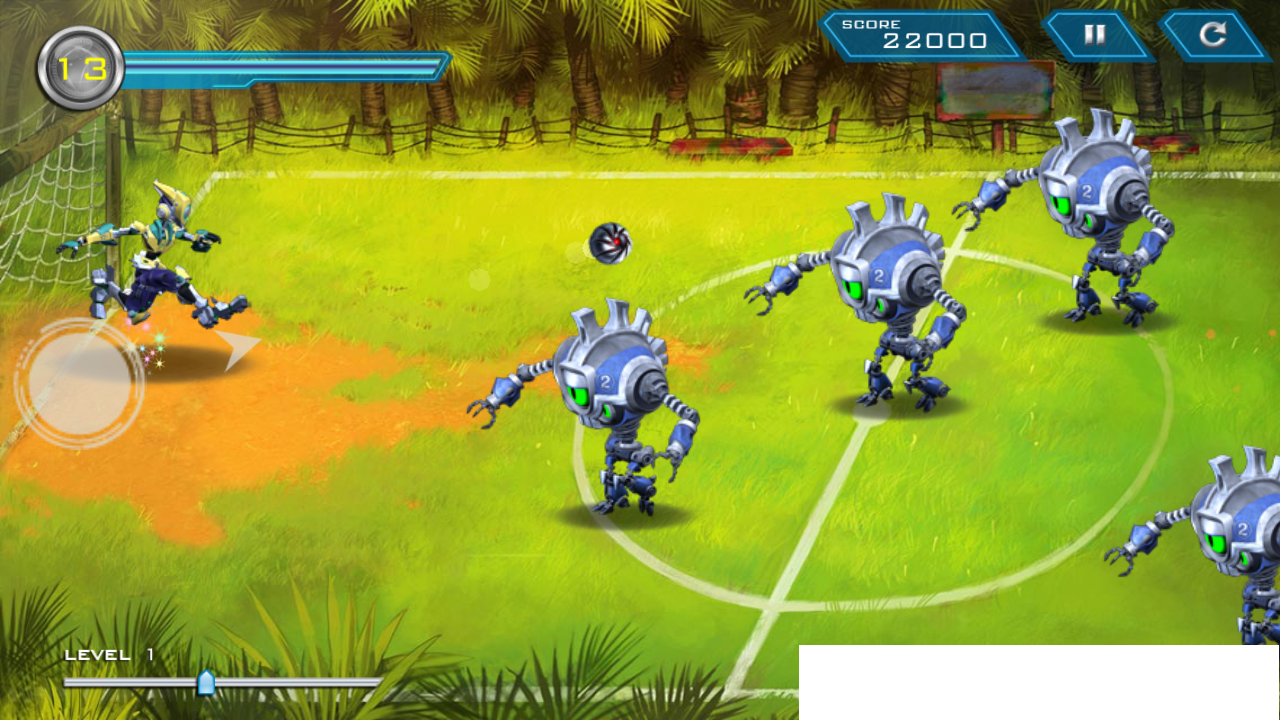 ボラカンプン: ロボキック androidアプリスクリーンショット1