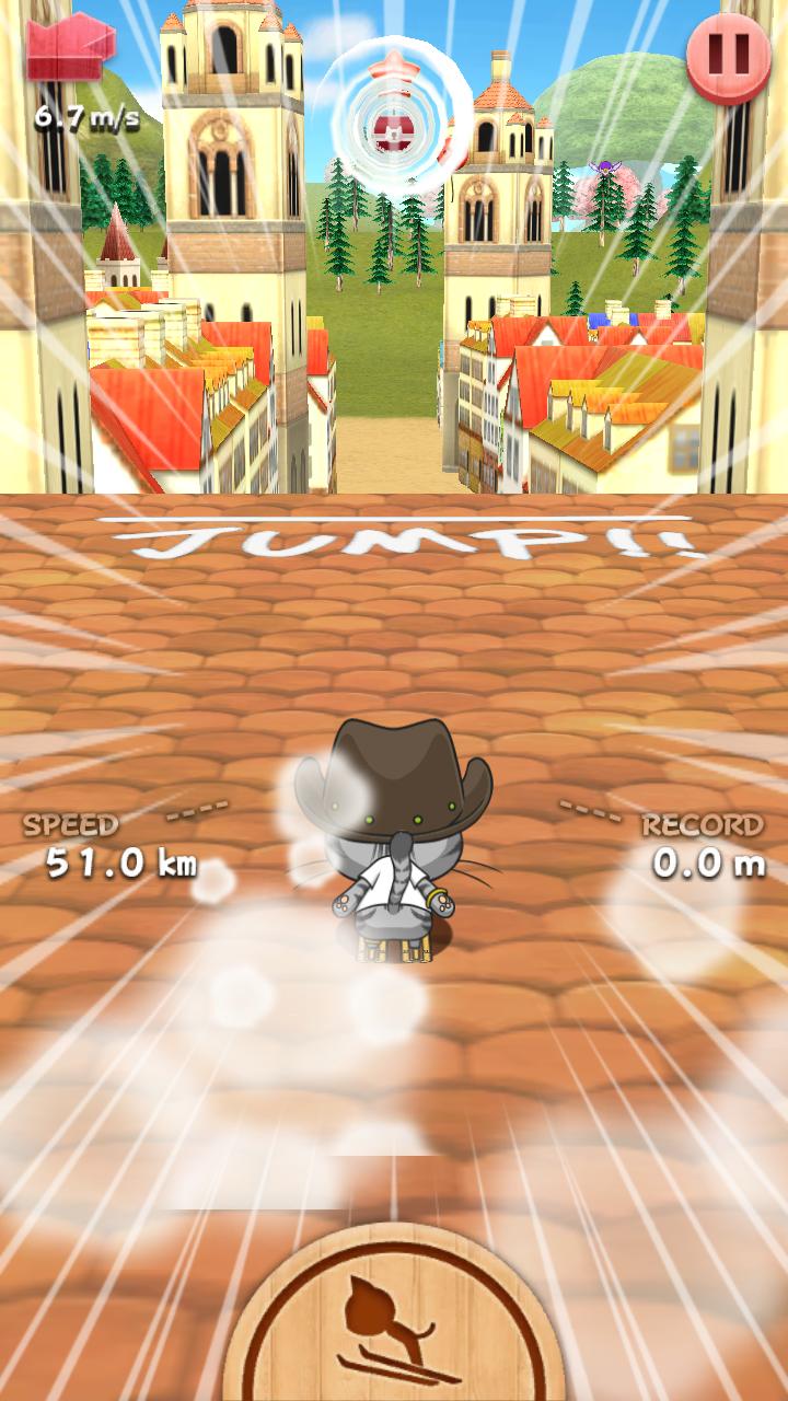 androidアプリ LINE Neko Jump攻略スクリーンショット1