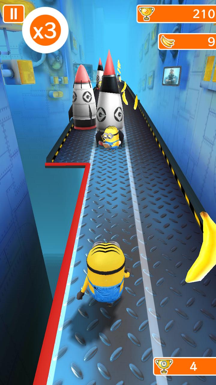 androidアプリ 怪盗グルーのミニオンラッシュ攻略スクリーンショット2