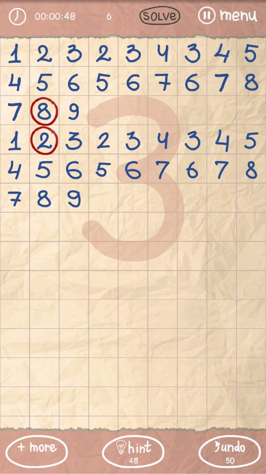 落書き番号 - クールなパズル androidアプリスクリーンショット1