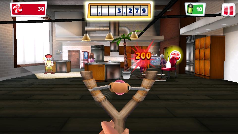 Naughty Boy - いたずら小僧:スリング&シュート androidアプリスクリーンショット1