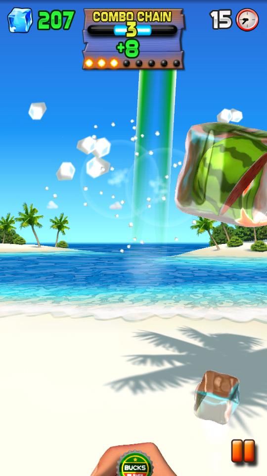 ボトルキャップブリッツ androidアプリスクリーンショット1