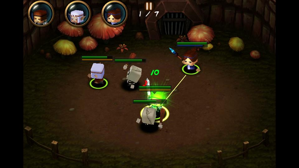 タイニーレジェンズ:ヒーローズ androidアプリスクリーンショット1