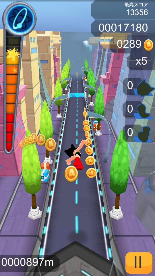Astro Boy 鉄腕アトム ダッシュ androidアプリスクリーンショット1