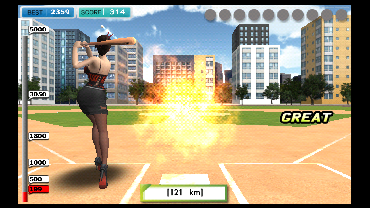 Sexy Baseball androidアプリスクリーンショット1