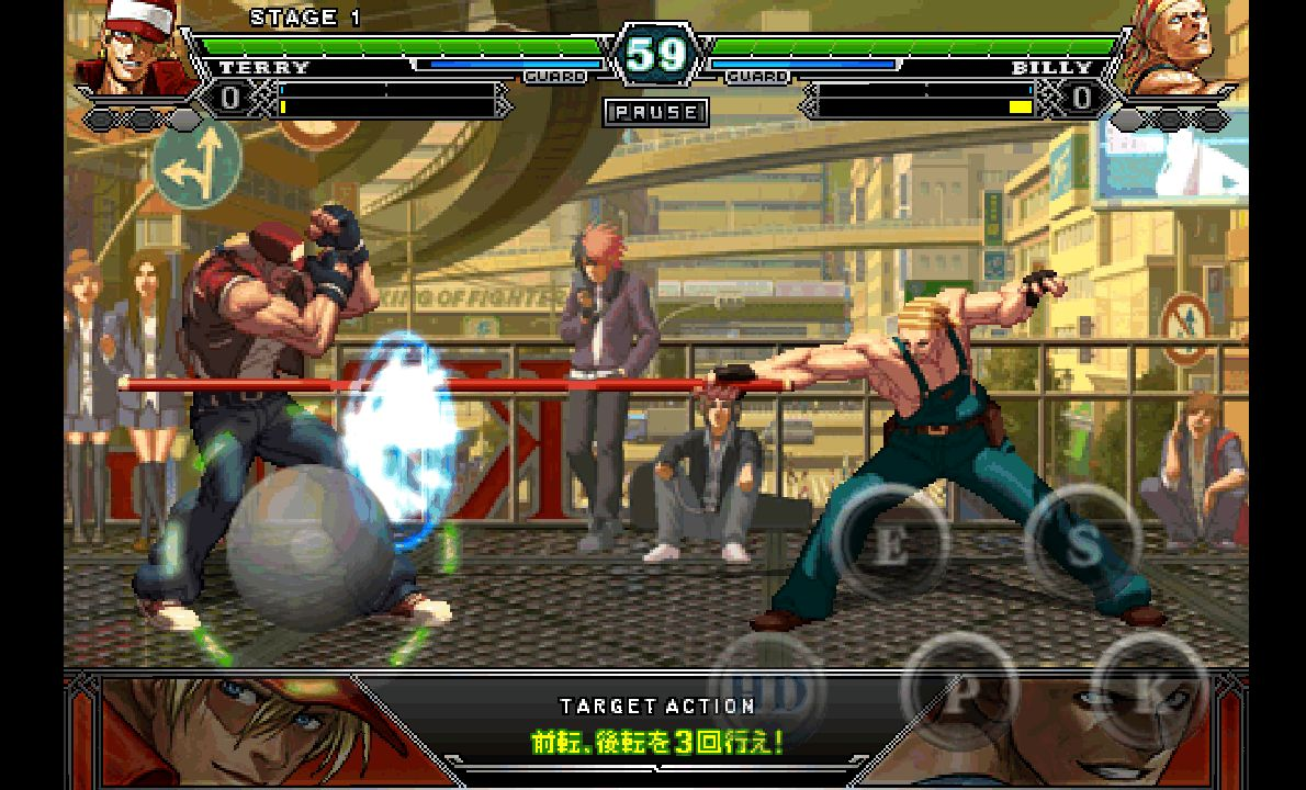 androidアプリ THE KING OF FIGHTERS-A 2012攻略スクリーンショット3
