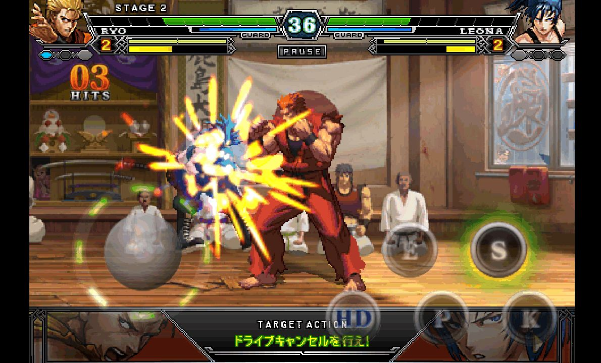 THE KING OF FIGHTERS-A 2012 androidアプリスクリーンショット1