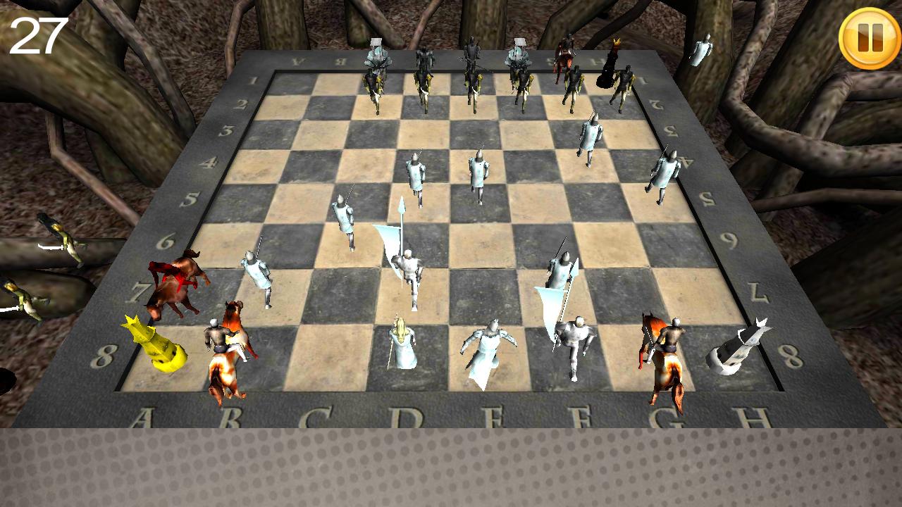 マジックチェス 3D androidアプリスクリーンショット1