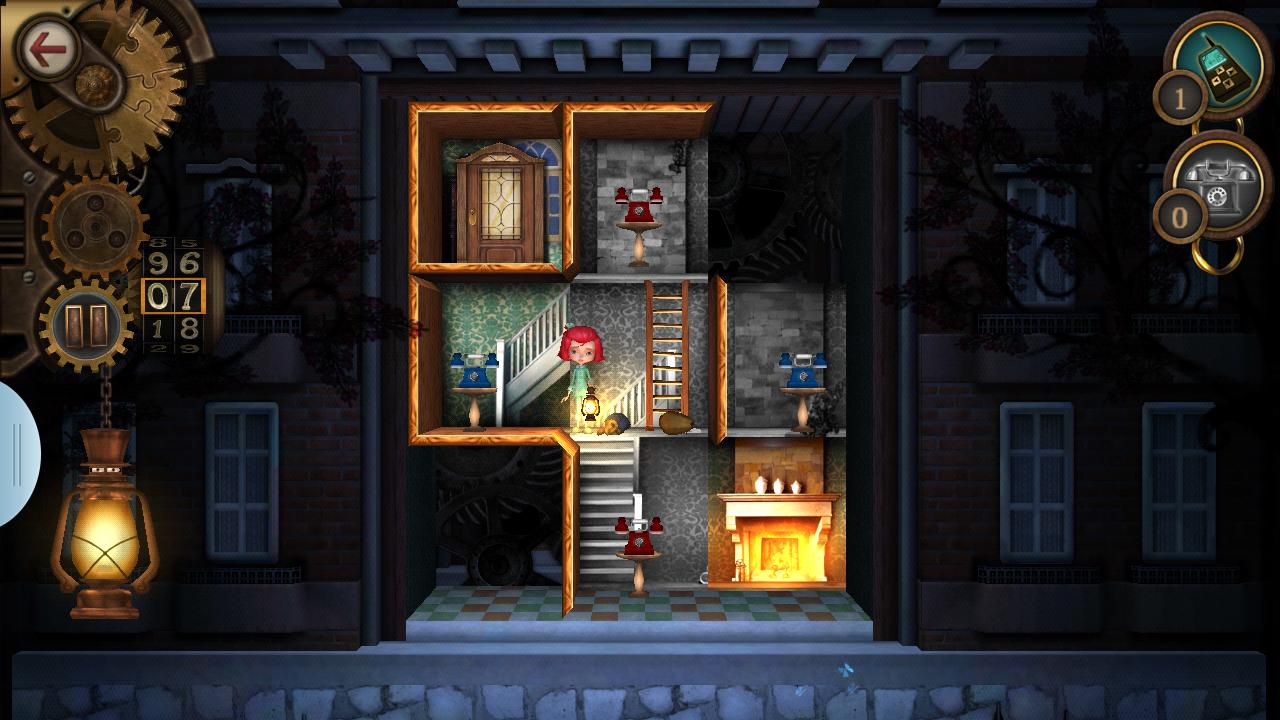 The Mansion: 動く部屋のミステリー androidアプリスクリーンショット1