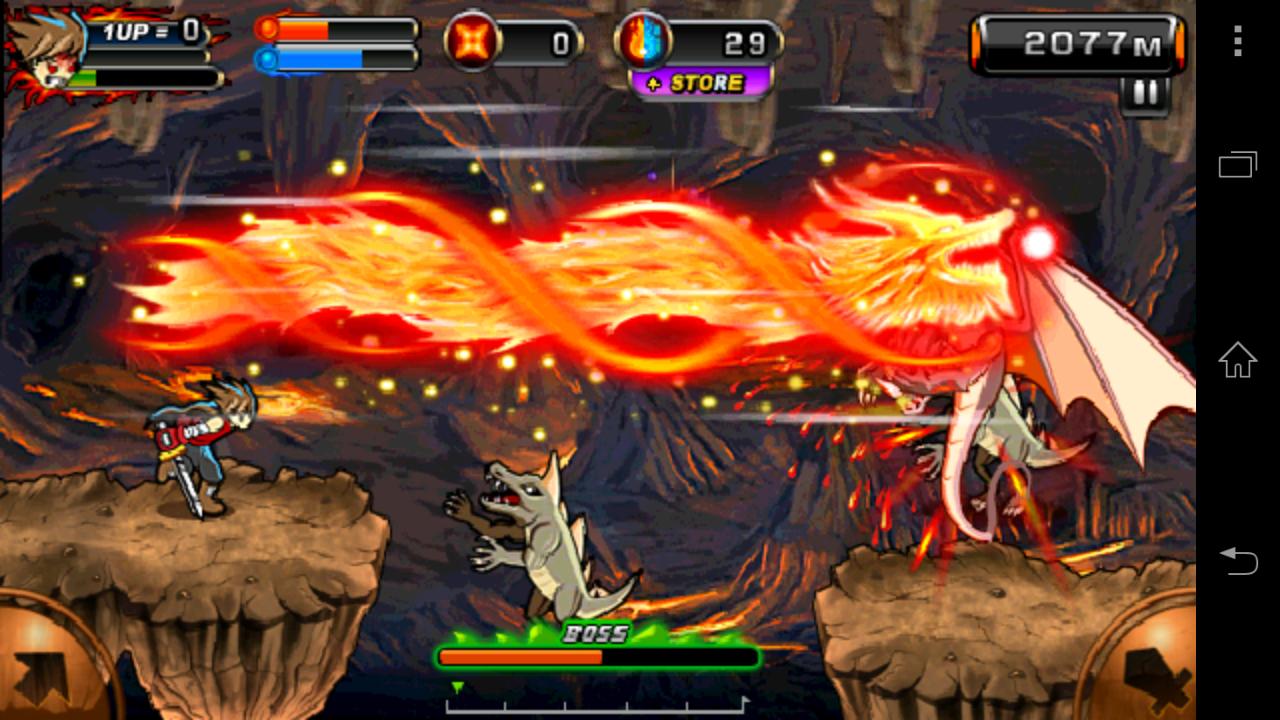 悪魔Ninja2(洞窟) androidアプリスクリーンショット1