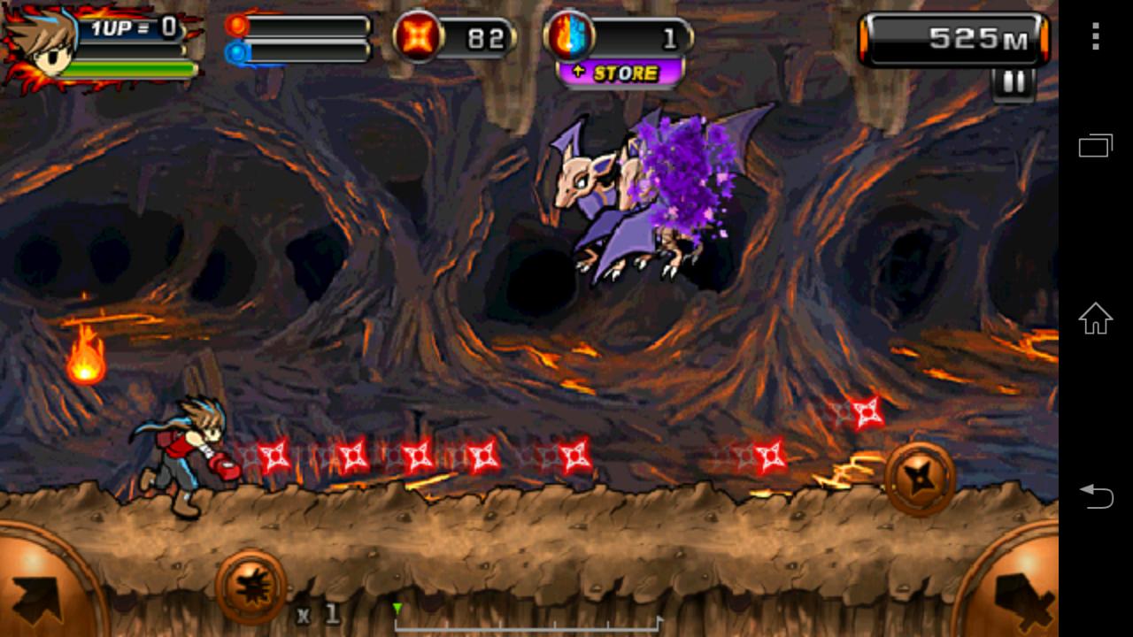 悪魔Ninja2(洞窟)のレビューと序盤攻略 - アプリゲット
