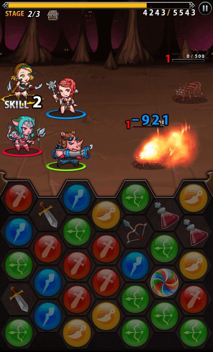 スピリットストーンズ androidアプリスクリーンショット1