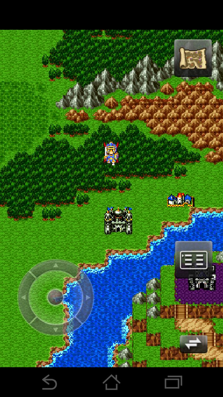 ドラゴンクエスト androidアプリスクリーンショット1