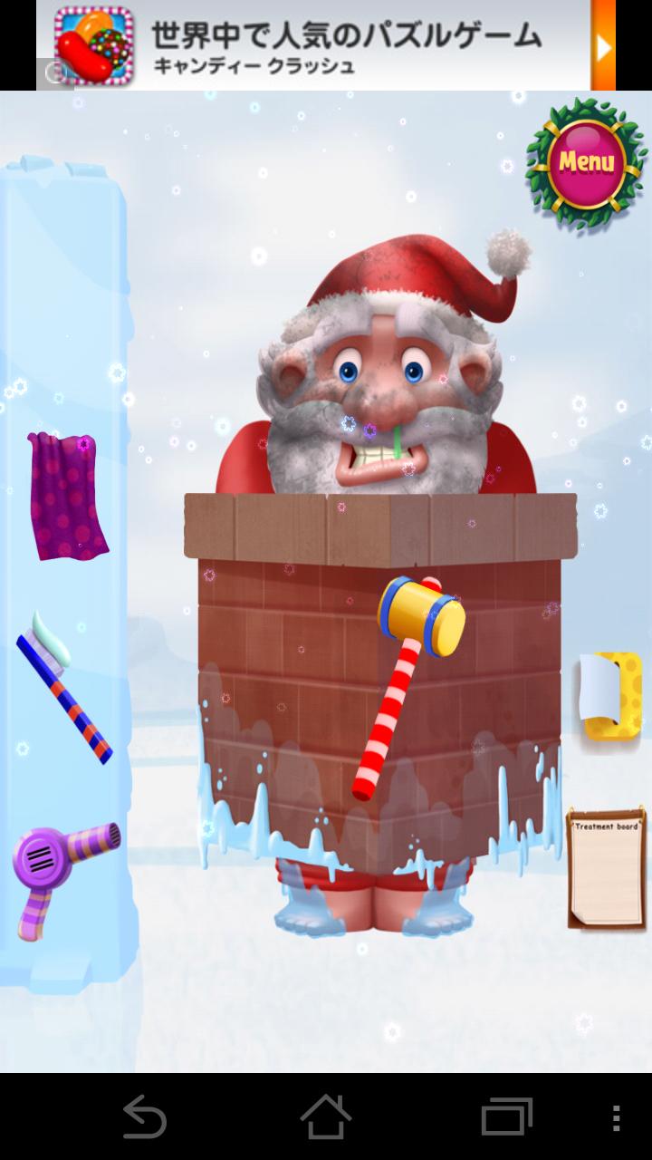 Santa Rescue Saga androidアプリスクリーンショット1