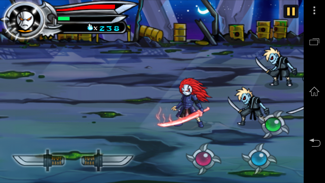 Mask Of Ninja androidアプリスクリーンショット1