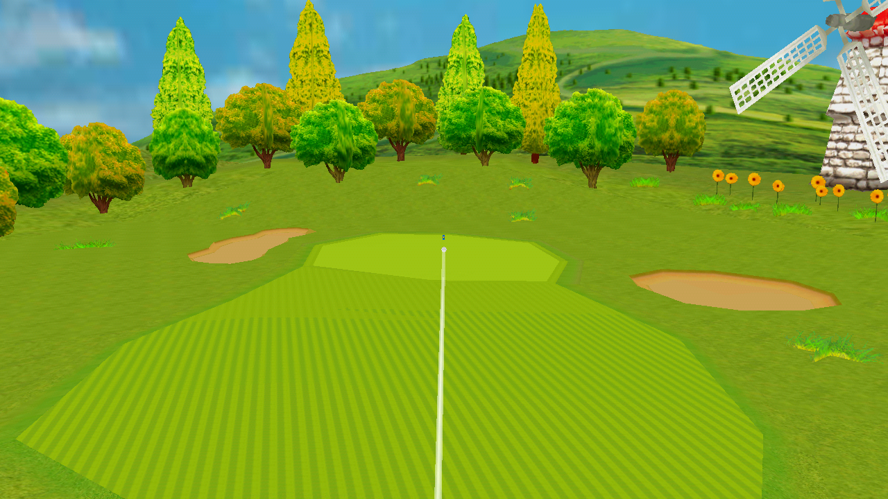 ゴルフチャンピオンシップ androidアプリスクリーンショット1