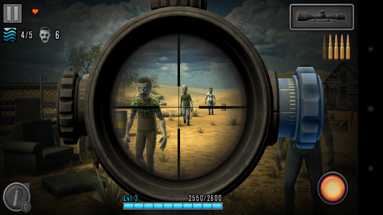 Last Hope - Zombie Sniper 3D androidアプリスクリーンショット1