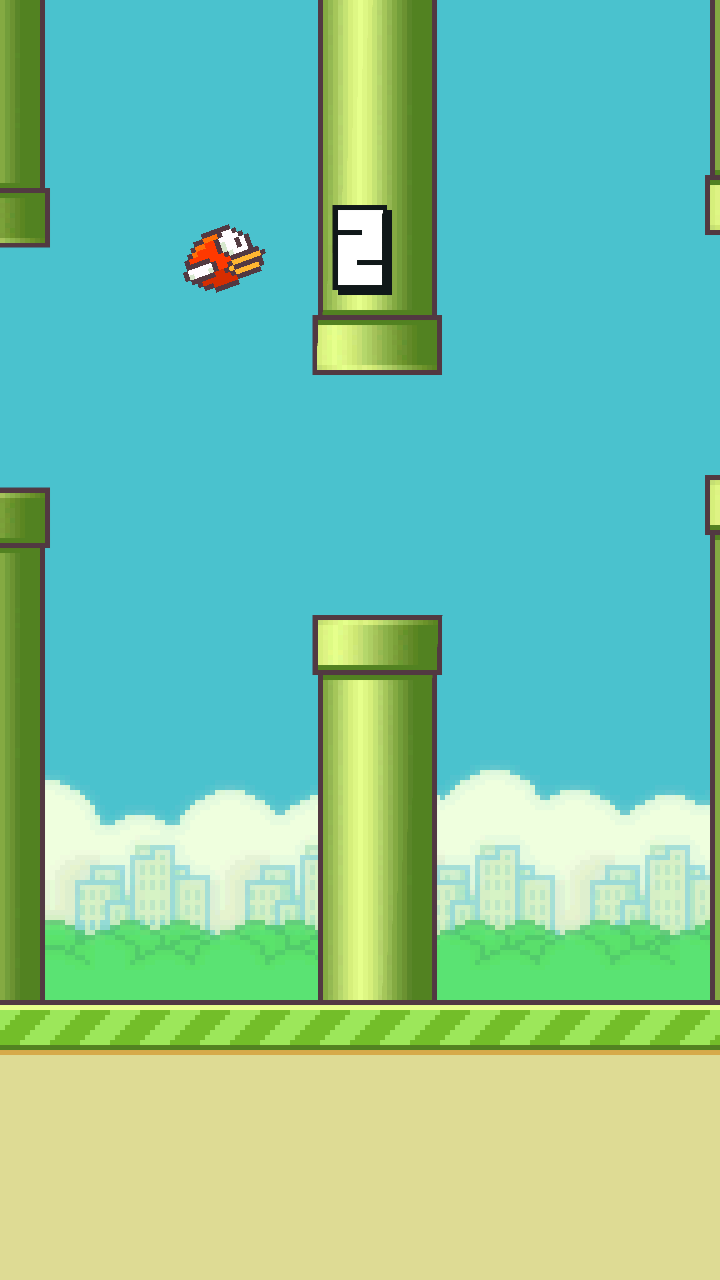 Flappy Bird androidアプリスクリーンショット1