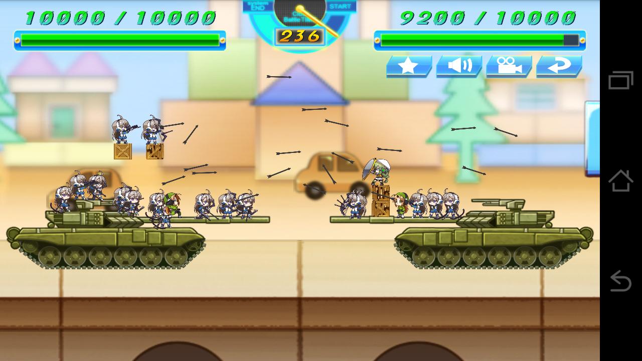対戦!SDウォーズ androidアプリスクリーンショット1