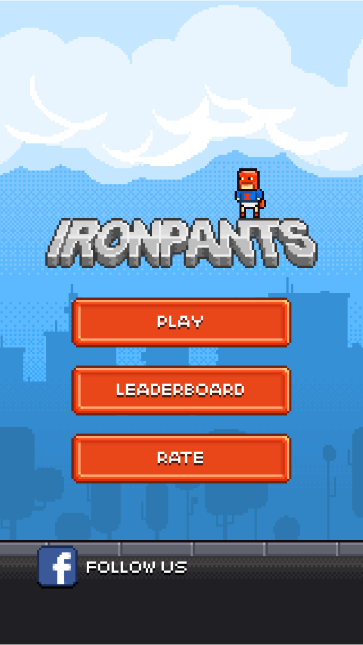 androidアプリ Ironpants攻略スクリーンショット1