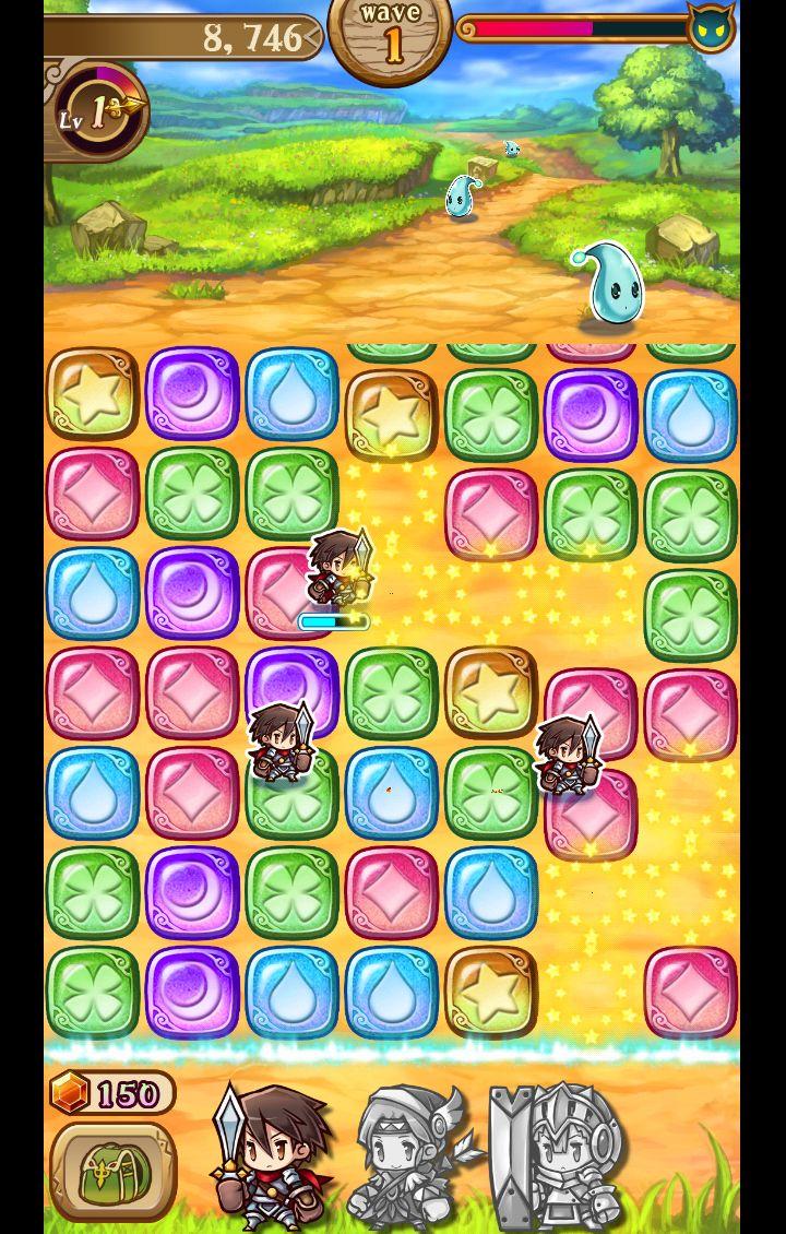 パズパズファンタジー androidアプリスクリーンショット1