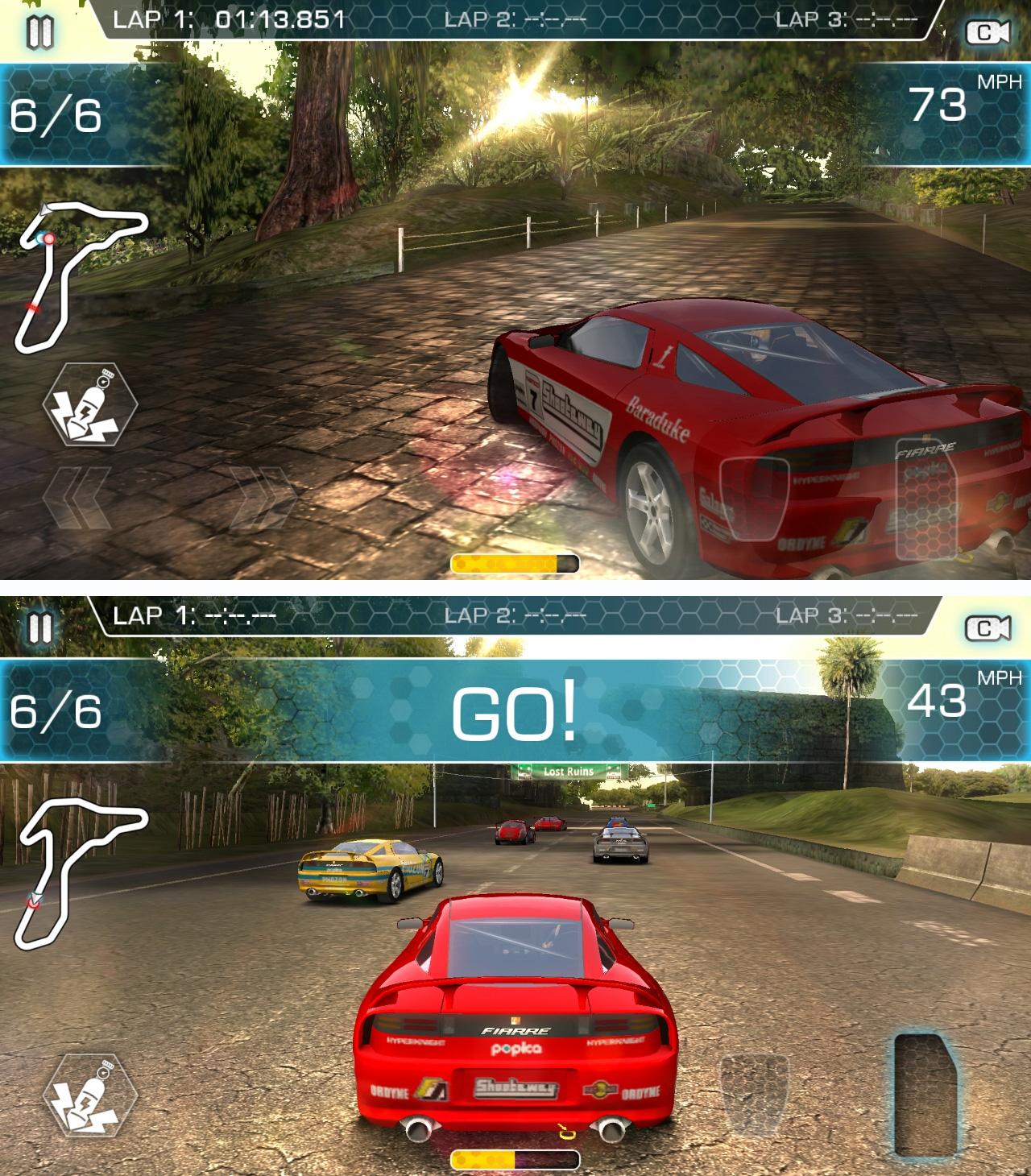 リッジレーサー スリップストリーム(Ridge Racer Slipstream) androidアプリスクリーンショット1