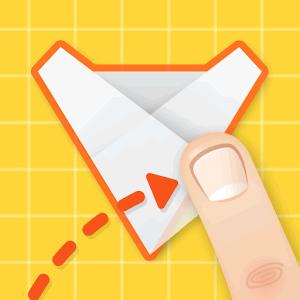折り紙であそぼ - 折り紙パズルゲーム