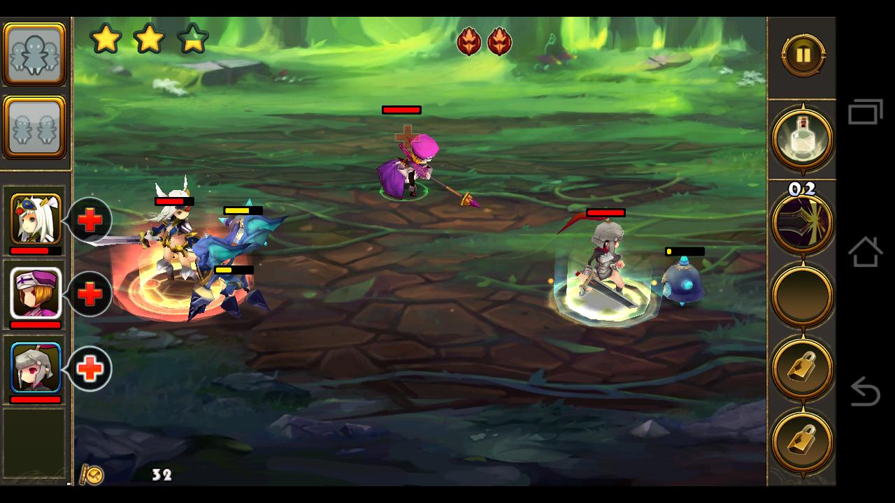 王女戦争 Princess War androidアプリスクリーンショット1