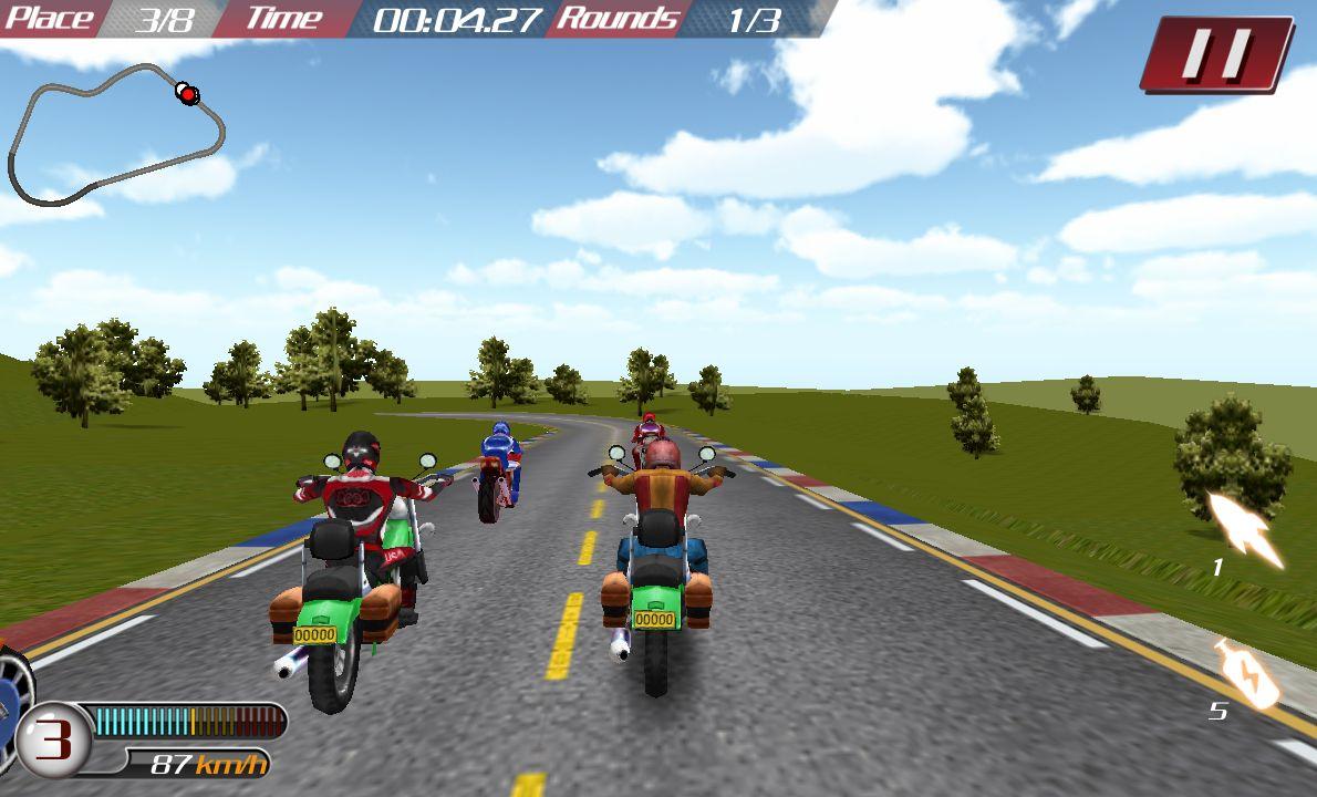 バイクカーブハリケーン androidアプリスクリーンショット1
