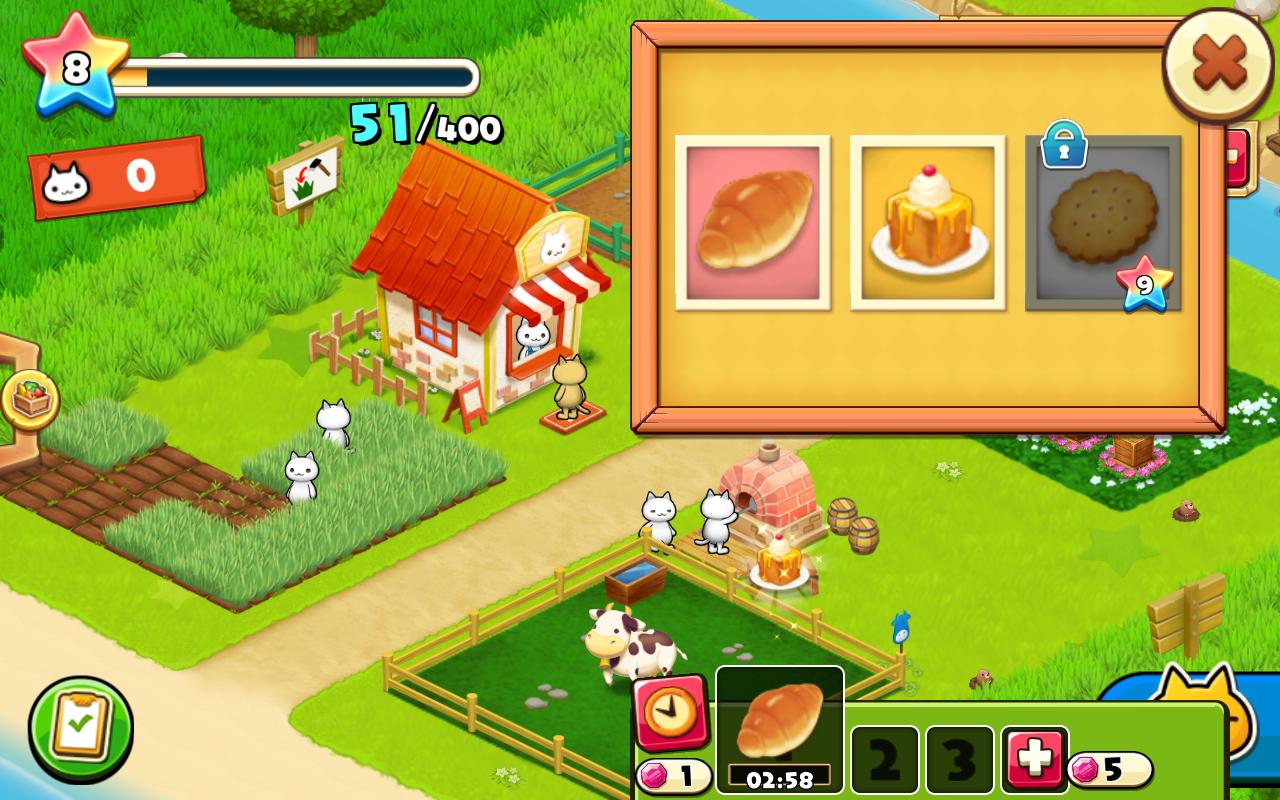androidアプリ ほしの島のにゃんこ攻略スクリーンショット5