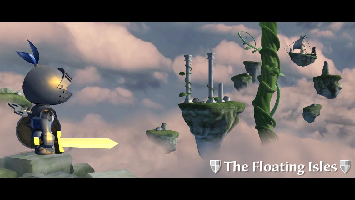 ねじ巻きナイト2(Wind-up Knight) androidアプリスクリーンショット1