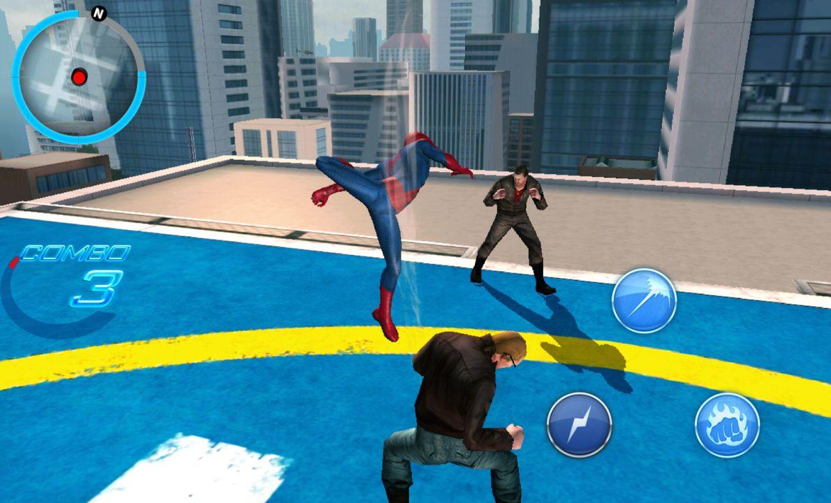 アメイジング・スパイダーマン2 androidアプリスクリーンショット1