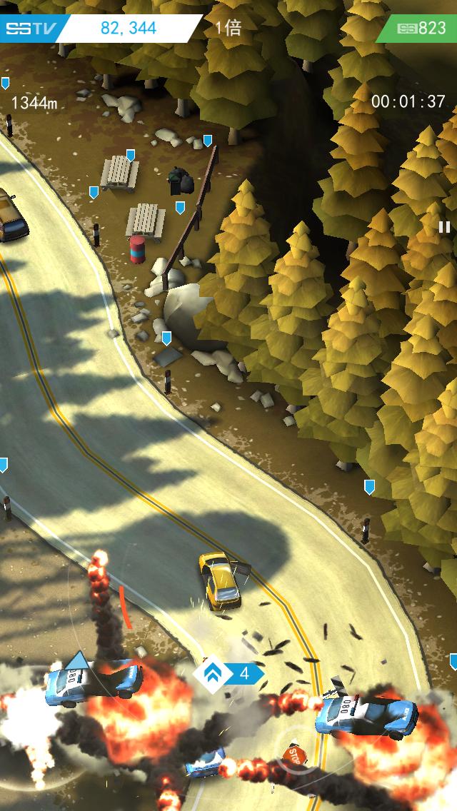 Smash Bandits Racing androidアプリスクリーンショット1