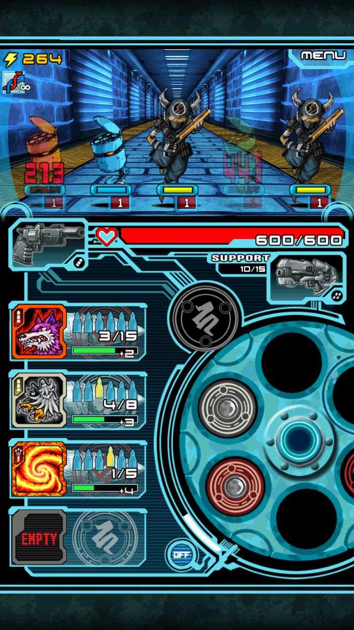 マジックガンナー androidアプリスクリーンショット1