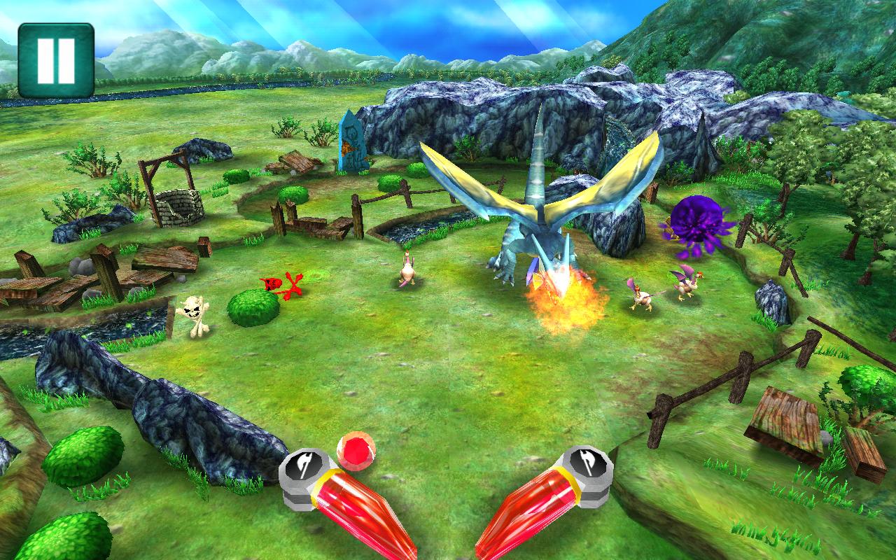 ドラゴンクラッシュ androidアプリスクリーンショット1