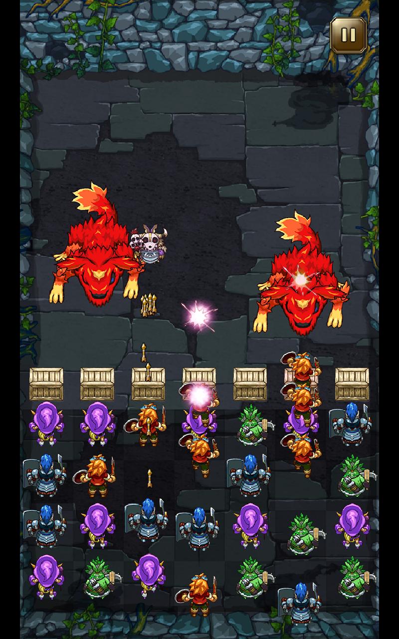ウチの騎士団長はどうやら、パズル感覚で戦闘指揮しているらしい androidアプリスクリーンショット1
