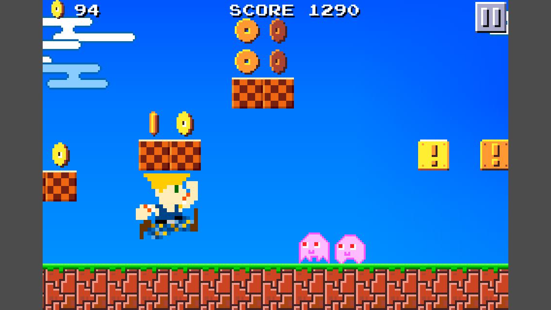 スーパーピコピコランナーズ androidアプリスクリーンショット1
