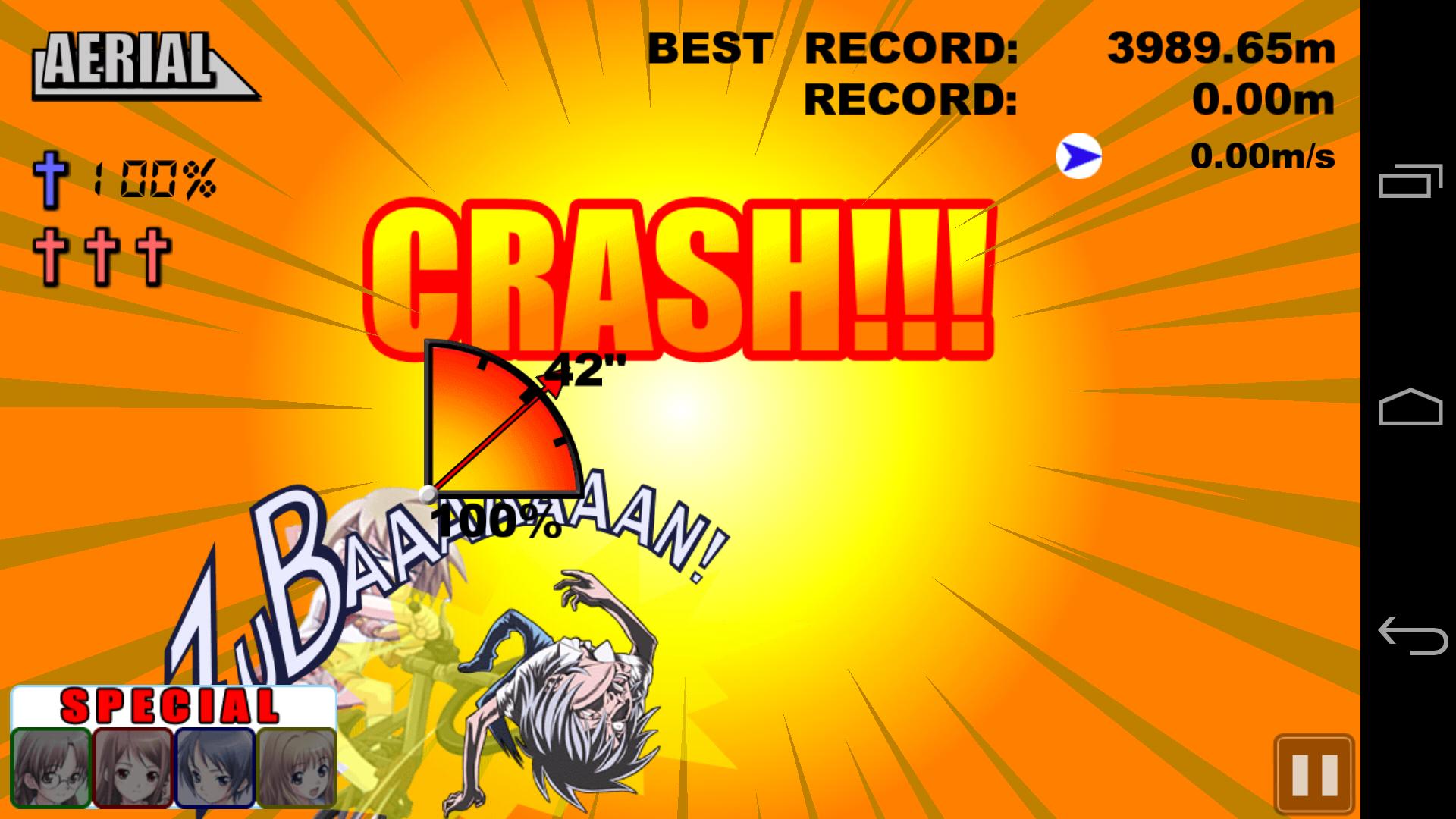 NANACA†CRASH!! androidアプリスクリーンショット1