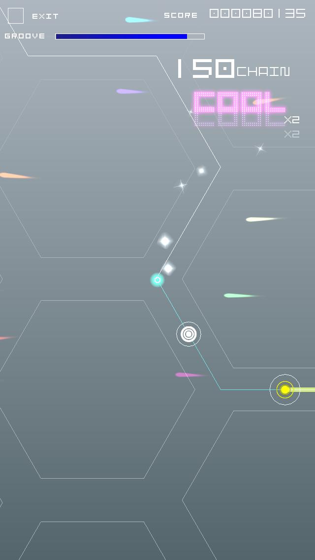 グルーヴコースター ゼロ androidアプリスクリーンショット1