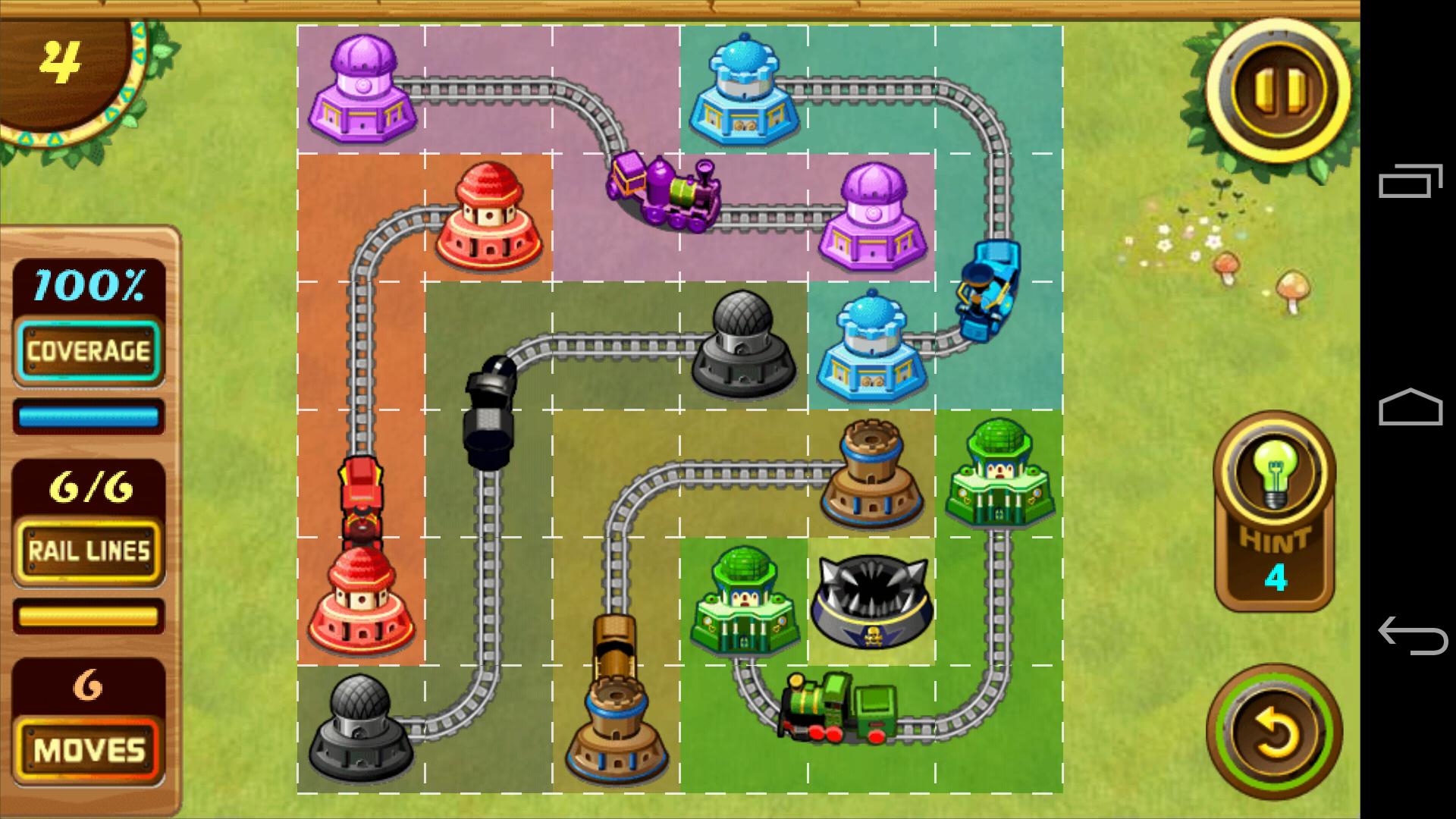 ポケットレールロード - Pocket Railroad androidアプリスクリーンショット1