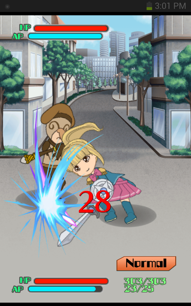 ともえとわーる 〜ワールダクミンと才の宝石〜 androidアプリスクリーンショット1