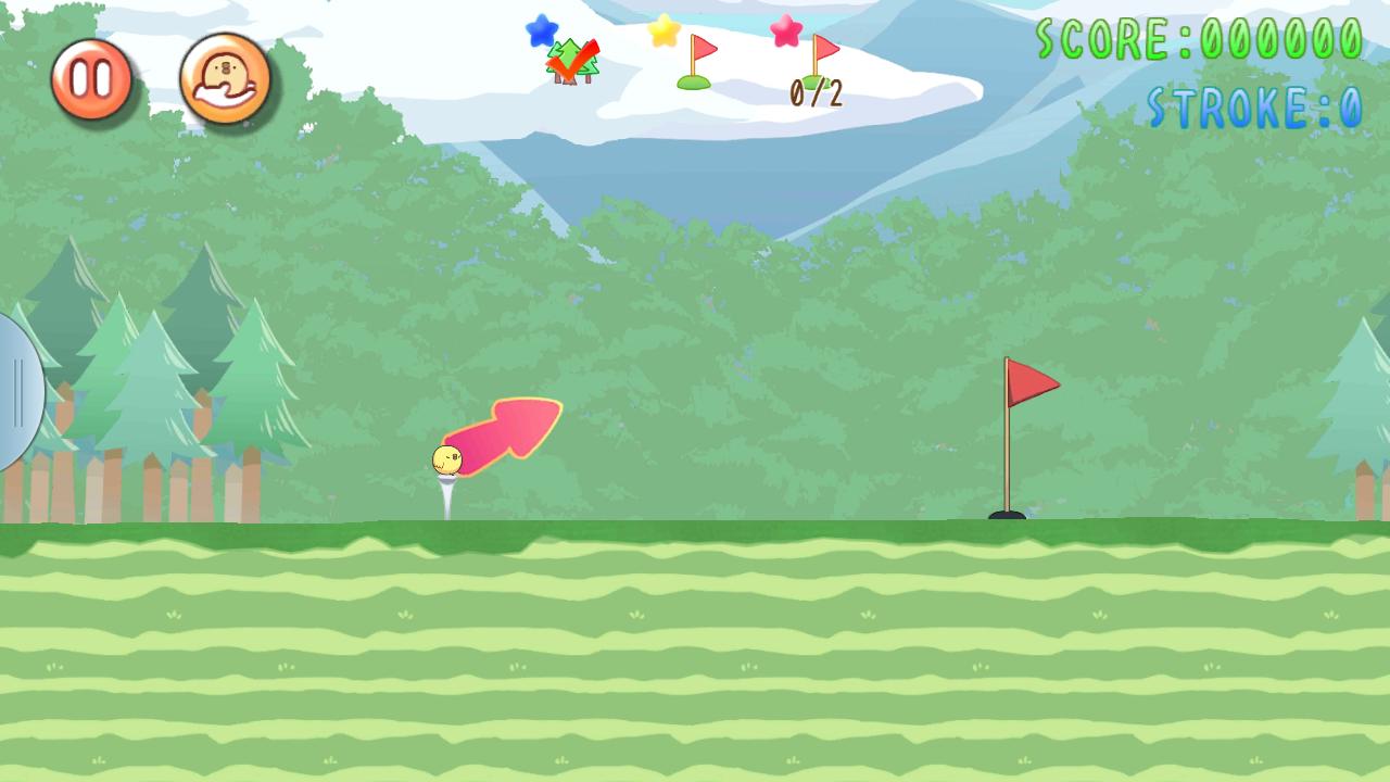 ぴよゴルフ androidアプリスクリーンショット1