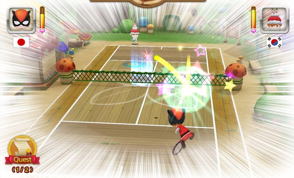 テニスの神様 androidアプリスクリーンショット1
