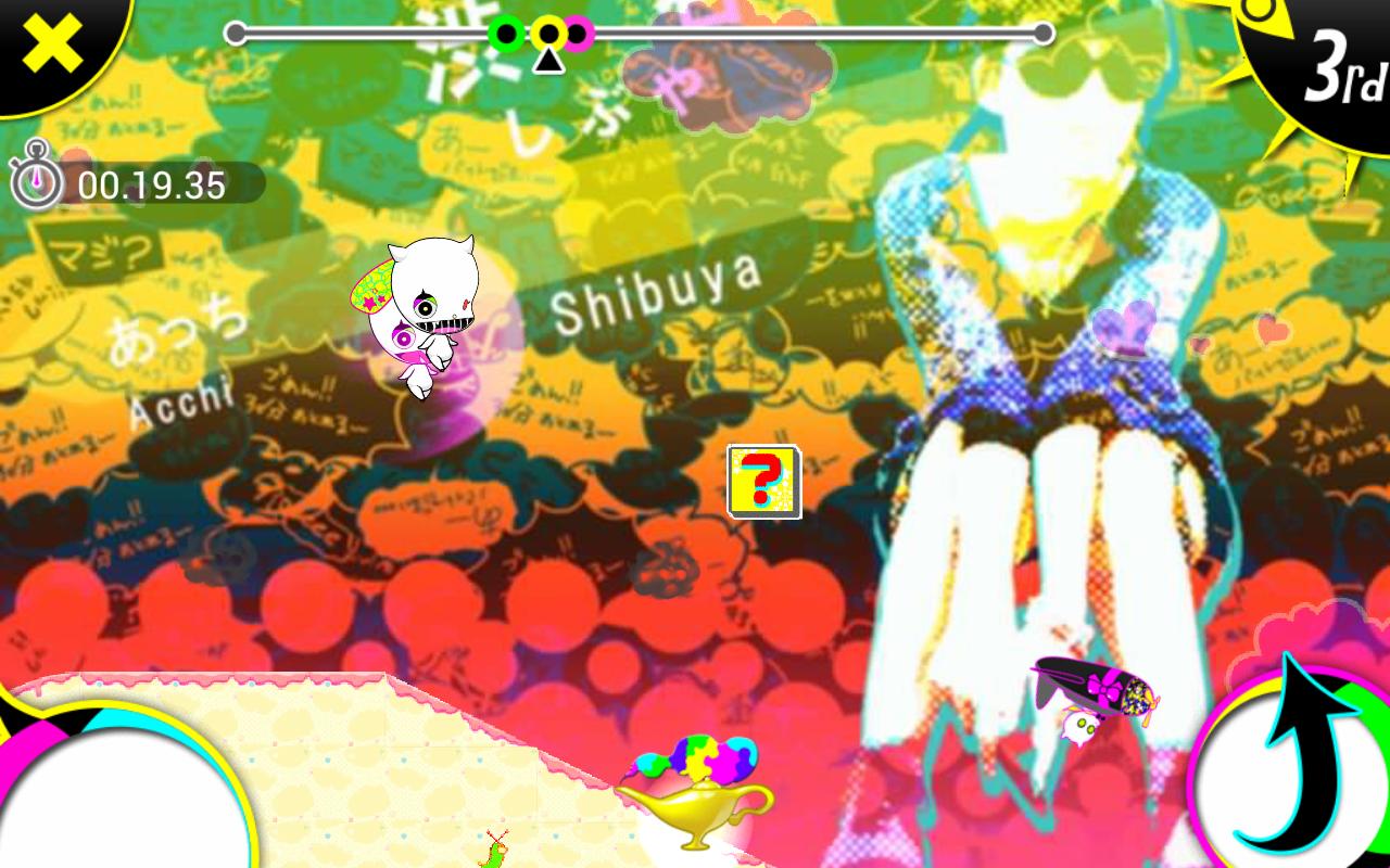 逃げまくれ!こーびぃ・ざ・らん androidアプリスクリーンショット1