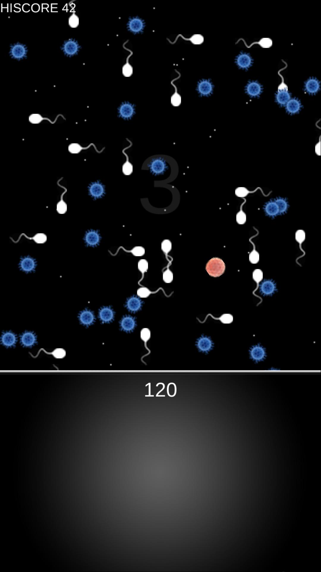 精子 vs 卵子~肉食系卵子の逆襲~ androidアプリスクリーンショット1