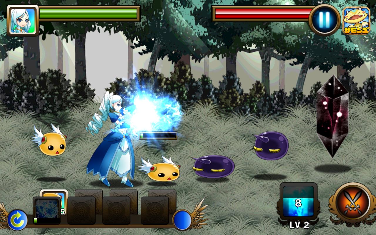 ストラグル・オブ・プリンセス ~解かれし封印の鏡~ androidアプリスクリーンショット1