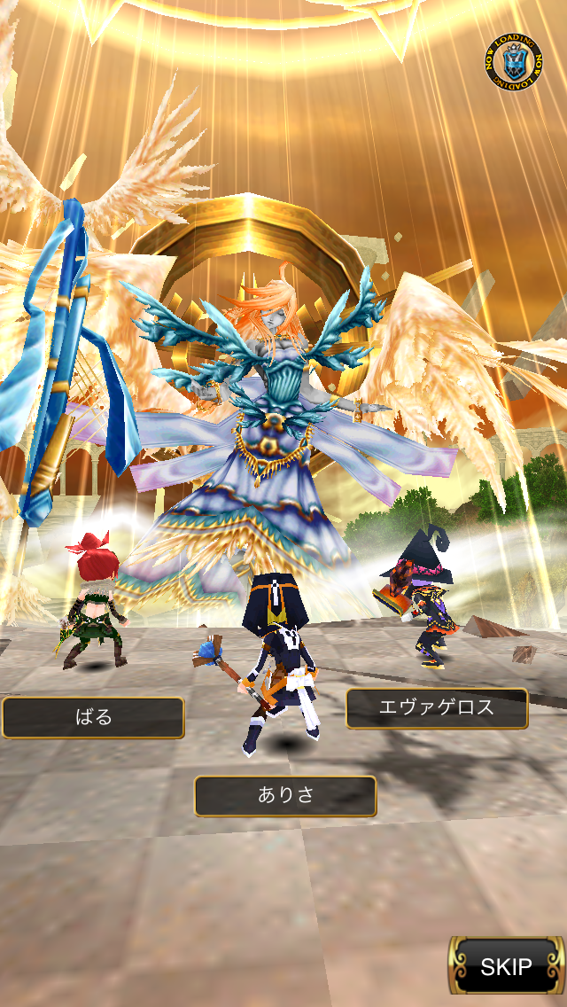 RPG エレメンタルアームズ androidアプリスクリーンショット1