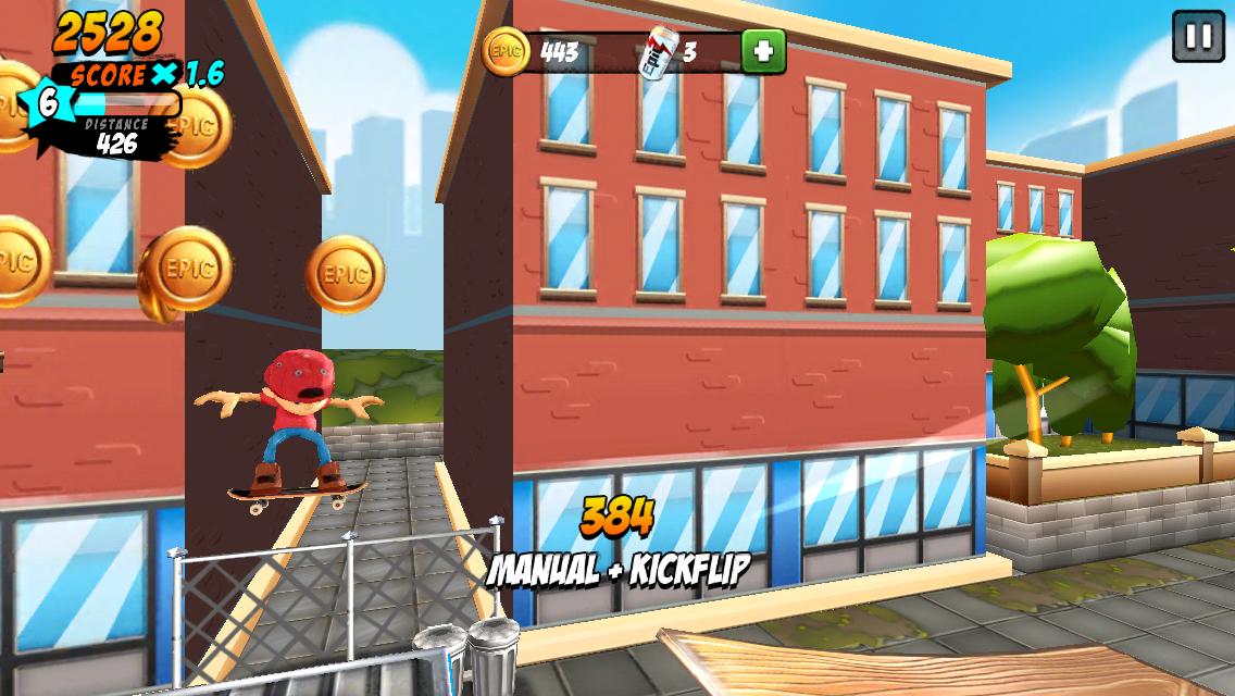 Epic Skater androidアプリスクリーンショット1