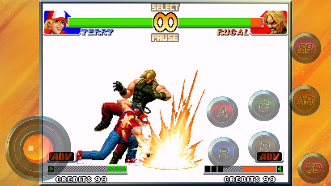 androidアプリ THE KING OF FIGHTERS '98攻略スクリーンショット4