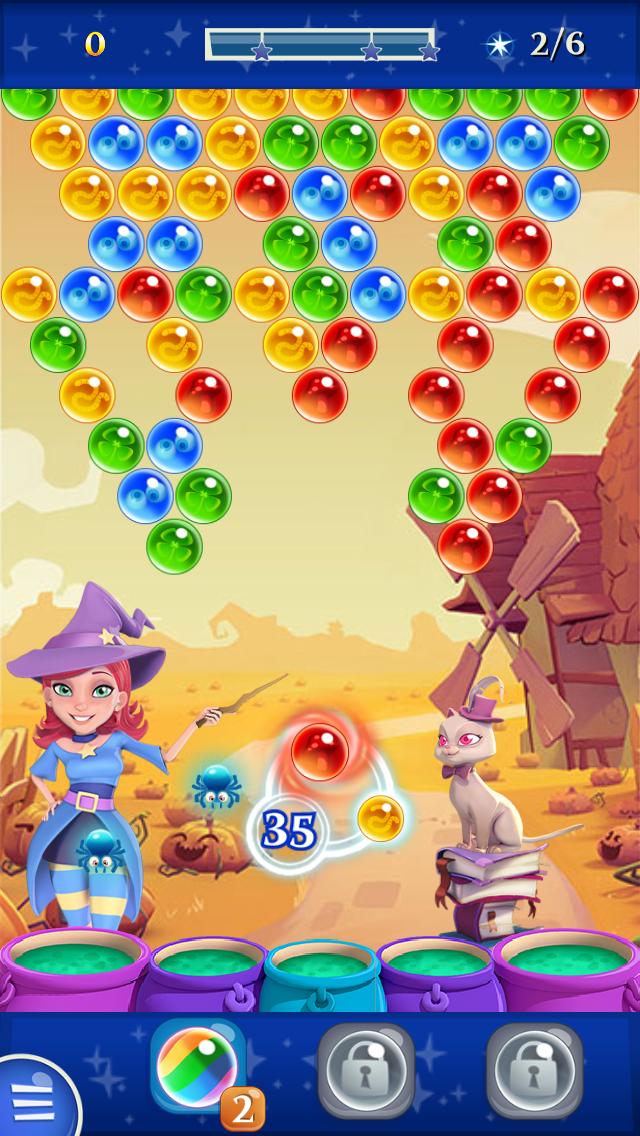 バブルウィッチ2 androidアプリスクリーンショット1